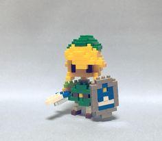 #nanoblock #nanoblocks  #bricks  #blocks#ナノブロック #legendofzelda#link #Zelda #ゼルダの伝説#リンク #nintendo#任天堂  ゼルダの伝説/リンク