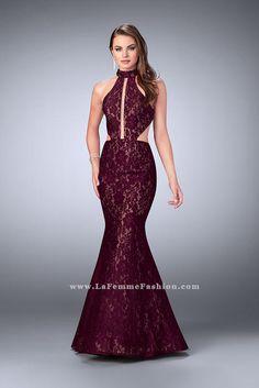 La Femme 24303  La Femme Prom Prom, Bridal, Bridesmaid, Pageant, & Special Occasion Gowns- WWW.PROMUSA.BIZ