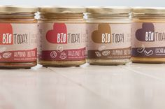 Identity & Packaging BIO Today. by Maan.nl concept en creatie, via Behance