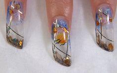 new models of aquarium nail design