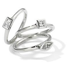 c1edb9edb ORRO Contemporary Jewellery Glasgow - Henrich & Denzel - Platinum Toska Engagement  Rings - Modern