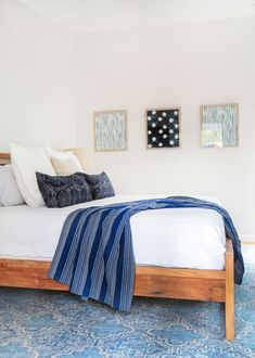 Make it an accent color in a few small places. | 23 Ways To Decorate Your Bedroom If You Love The Color Blue