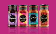 Sharwoods Indian sauces - quick and easy dinner Jam Packaging, Packaging Design, Indian Sauces, Coffee Bottle, Charcuterie, Indian Food Recipes, Spices, Food And Drink, Drinks
