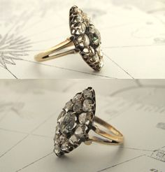 Georgian Marquise Bezel Diamond Ring. My future husband would be wise to get my ring from this site.