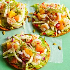 Use this easy recipe to make a shrimp ceviche tostada that serves six people. With fennel and grapefruit as ingredients, this flavorful slow cooker dish is destined for success!