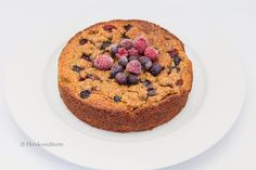 Berry Almond Cake