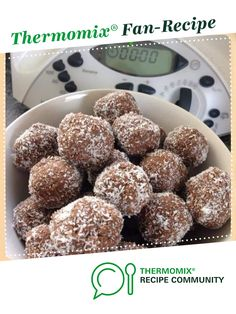 Peppermint Crisp Balls by Thermie Lovin'. A Thermomix <sup>®</sup> recipe in the category Baking - sweet on www.recipecommunity.com.au, the Thermomix <sup>®</sup> Community.