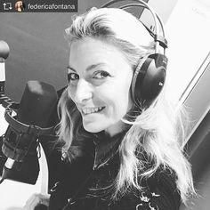 Ecco la nostra #federicafontana ai microfoni di #radionumberone che ci parla di  fit& beauty ...