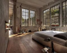 Built in 1926 and located close to Lake Como, in northern Italy. This gorgeous 270 square meters loft was kept in its original form and holds many of its owner own artwork. Architect and artist Marco Vido has been content with small steps to make it into his dream apartment. Brick walls and windows are…