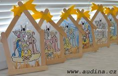 Ice styles and an expression become Christmas decorations - Kuchen Preschool Christmas, Christmas Nativity, Christmas Crafts For Kids, Christmas Activities, Kids Christmas, Holiday Crafts, Christmas Decorations, Christmas Ornaments, Christian Christmas Crafts