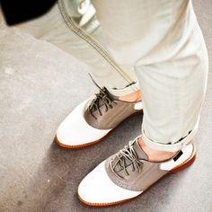Bass Saddle Shoes  ChrisBeza + 615