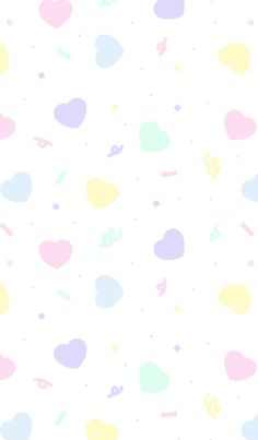 Pattern shared by 𝐆𝐄𝐘𝐀 𝐒𝐇𝐕𝐄𝐂𝐎𝐕𝐀 👣 on We Heart It Cute Pastel Wallpaper, Cute Patterns Wallpaper, Kawaii Wallpaper, Love Wallpaper, Iphone Background Wallpaper, Wallpaper Iphone Cute, Cute Wallpaper Backgrounds, Pretty Wallpapers, Kawaii Background