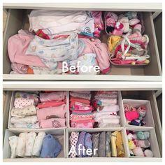 Nursery Dresser Drawer | Before & After