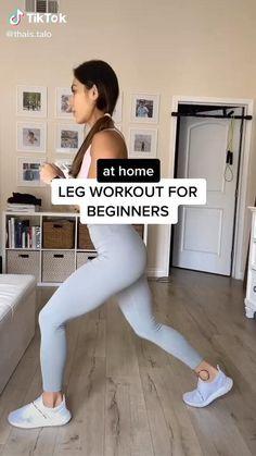 Leg Workout For Beginners