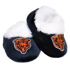 NFL Baby Booties Shoe Slippers Chicago Bears