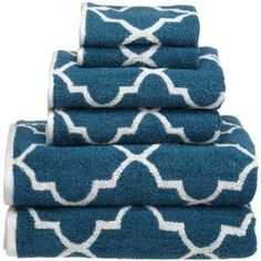Pretty towels for the M BA