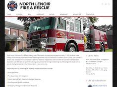 North Lenoir Fire & Rescue website development