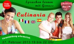 Culinaria - English, German, French, Spanish   courses