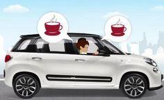AUTOASA: Fiat 500L oferece máquina de café expresso à bordo