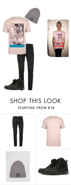 """""""josh dun - snapchat"""" by twenty-one-pilots-outfits ❤ liked on Polyvore featuring River Island, NIKE and New Balance"""
