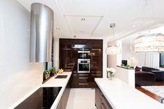 Klasyczny dom krem i gorzka czekolada | All-Design Projektowanie wnętrz Kraków, Projekty wnętrz, Architekt Agnieszka Lorenc