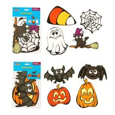 8Ct. Halloween Cutouts 6 Inch 8 Inch 2 Assortments/Case of 48