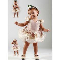 trajes de flamenca niña Noa bebe