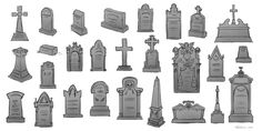 graveyard concept art - Google Search
