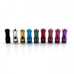 Aluminum 510 Drip Tip - 9 Colours  #joyetech #vapelife #Kanger #eliquid #vapejuice #ejuice #ecigs #cupti #ecig #VapeOn
