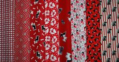 Perfect for that 1930's look -- reproduction 1930s print fabrics -- with Scottie Dogs!