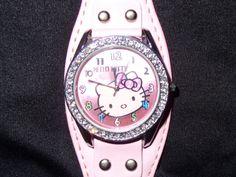 Papa Saldos com Gosto  : *5 Relógio Hello Kitty - 5€ Rolex Watches, Hello Kitty, Accessories