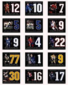 HOCKEY ONLINE PHOTOS Hockey Online, Bill Barber, George Armstrong, Hockey Hall Of Fame, Photos, Cards, Pictures, Maps, Playing Cards