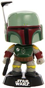 Funko POP Movie: Star Wars Boba Fett Bobble Head Vinyl Figure: Funko: Amazon.co.uk: Toys & Games