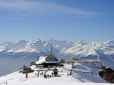 Panoramio - Photo of Pas de maimbre ski station ANZERE VS SWITZERLAND