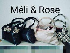 Méli & Rose Création Artisanal sur Instagram: Une petite série de city zipzip de sacotin le petit sac a main deux compartiment zippés... Ceux là vont partir chez @de mèche avec vous…
