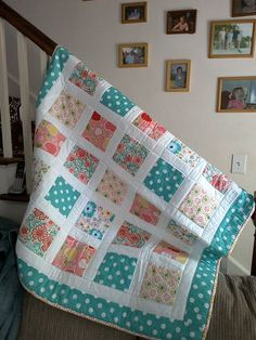 Ideas Patchwork Quilt Patterns Ideas Design Table Runners - DIY and Crafts Quilt Baby, Baby Quilts Easy, Cute Quilts, Baby Girl Quilts, Owl Quilts, Baby Quilt For Girls, Handmade Baby Quilts, Twin Quilt, Star Quilts