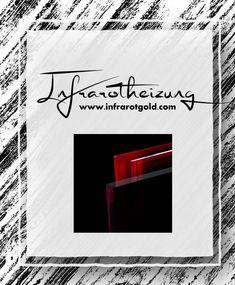 #infrarotheizung #infrarotpaneele #glas #elegant #modern #zukunft #rot #color #onlineshop Shops, Arabic Calligraphy, Elegant, Modern, Future, Red, Glass, Classy, Tents