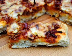 Pizza a la Barbacoa con Bacon