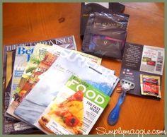 How to get free stuff!  Simplymaggie.com