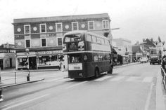 Plumstead High Street Plumstead South East London England in the 1960's