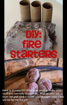 Fire srarters diy