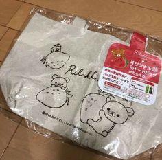 Rilakkuma variety 4 item set san-x hand towel porch tote bag japan gift casual