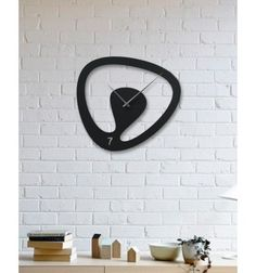 Modern Design Large Size Metal Wall Clock - DAGROF