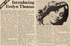 Pic of my mothers debut article.