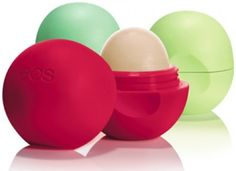 Eos lip balm. Love this stuff. My absolute favorite