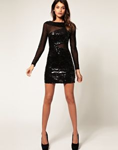 @Angie Sciacca - got a short black sequin dress like we talked about today, if you ever need to borrow one!