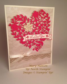 Bloomin' Love, Delicate Details, Sealed with Love, Mary Hanson, Up North Stampin'