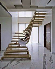 Modern staircase design ideas for your house interior to give your house an attractive look. Choose the best design and get expert advice on it. Interior Design Software, Best Interior Design, Interior Design Kitchen, Modern Interior, Interior Staircase, Staircase Design, Interior Architecture, Staircase Ideas, Workshop Architecture