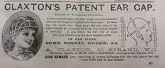 Claxton's Patent Ear Cap