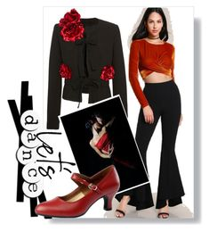 """""""Tango night"""" by dmg555 ❤ liked on Polyvore featuring Elie Saab"""